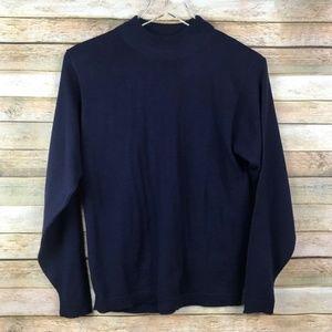 Pendleton • 100% Virgin Wool Mock Neck Sweater
